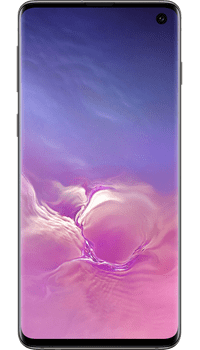 Samsung Galaxy S10 128GB Prism Black on EE Upgrade