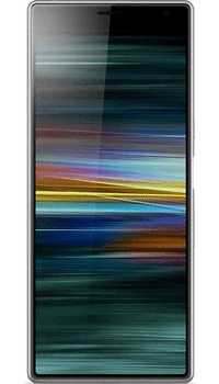 Sony XPERIA 10 Plus Silver on Unlimited + 25GB at £49