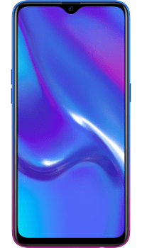 OPPO RX17 Neo Blue on Virgin