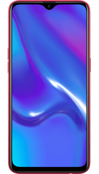 OPPO RX17 Neo Red on O2 Upgrade