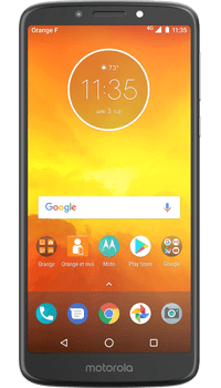 Motorola Moto E5 Flash Grey