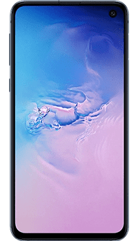 Samsung Galaxy S10e 128GB Prism Blue on Pay As You Go