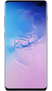 Samsung Galaxy S10 Plus 128GB Prism Blue on Pay As You Go