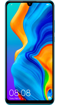 Huawei P30 Lite 128GB Blue on EE Upgrade