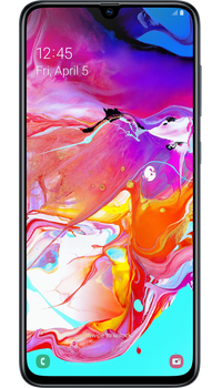 Samsung Galaxy A70 Black on Unlimited + 10GB at £24