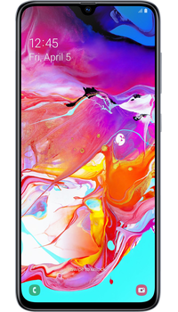 Samsung Galaxy A70 White on Three