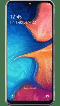 Samsung Galaxy A20e Coral on O2