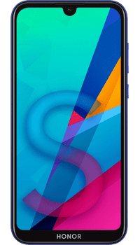 Honor 8S Blue on O2