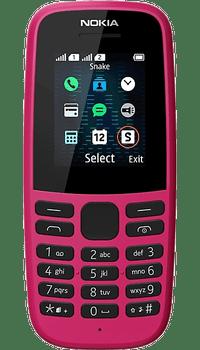 Nokia 105 2019 Pink