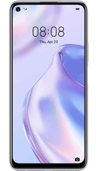 Huawei P40 Lite 5G Silver on Pay As You Go
