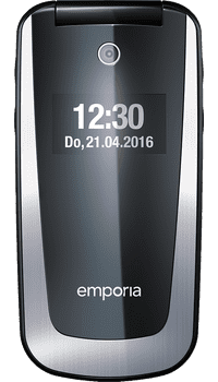 Emporia Select V99 Black on Vodafone