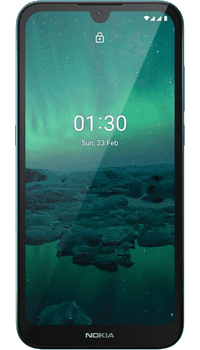 Nokia 1.3 Cyan Green on Talkmobile